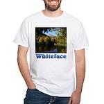 Whiteface pond White T-Shirt