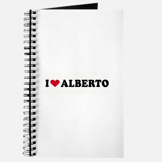 I LOVE ALBERTO ~ Journal