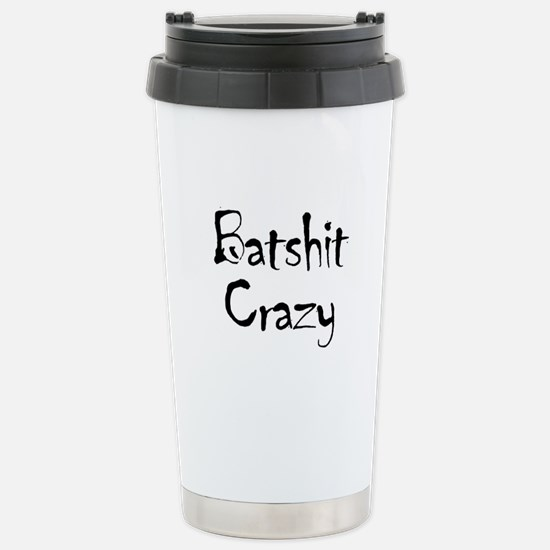 Batshit Stainless Steel Travel Mug