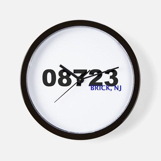 Unique Zip codes Wall Clock