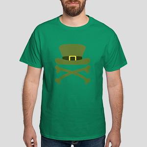 Irish Jolly Roger Dark T-Shirt