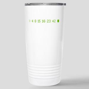4 8 15 16 23 42 Stainless Steel Travel Mug