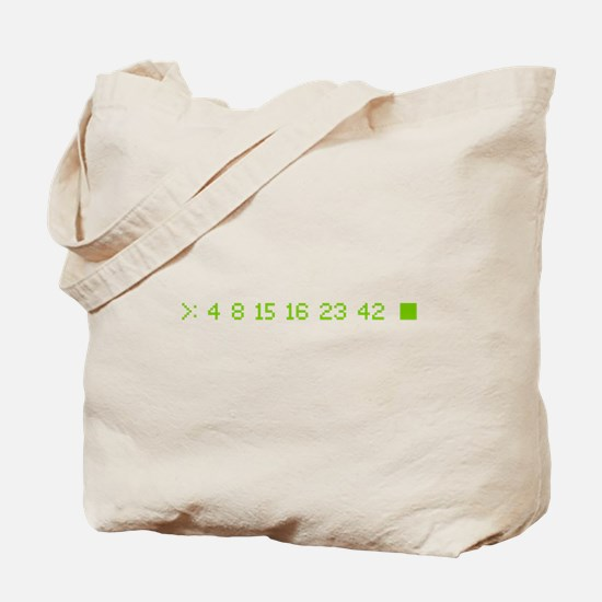 4 8 15 16 23 42 Tote Bag