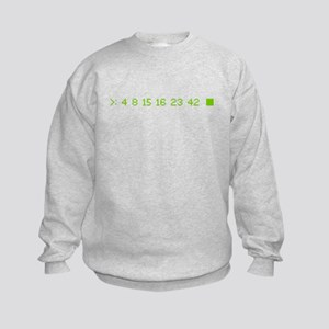 4 8 15 16 23 42 Kids Sweatshirt