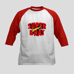 Super Brat... Kids Baseball Jersey