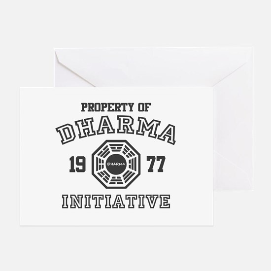 Property of Dharma Initiative Greeting Card