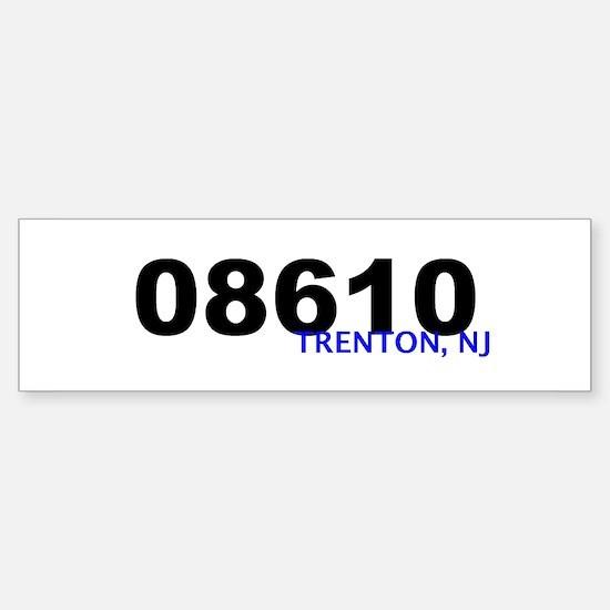 08610 Bumper Bumper Bumper Sticker