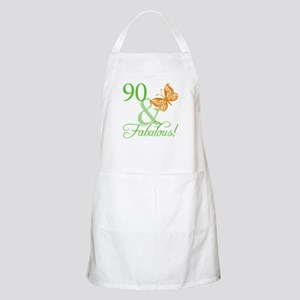 90 & Fabulous Birthday Apron