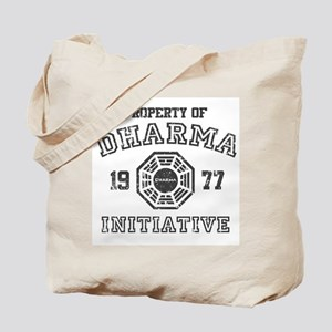 Property of Dharma Distressed Tote Bag