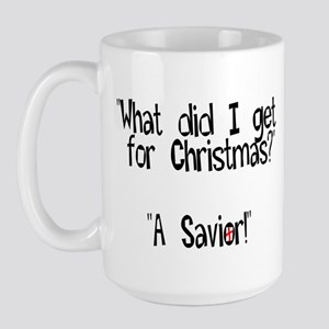 Christmas Savior Large Mug