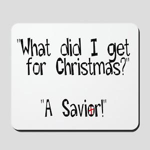 Christmas Savior Mousepad