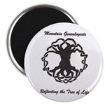 """Mountain Genealogists 2.25"""" Magnet (10 pack)"""