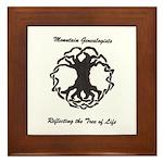 Mountain Genealogists Framed Tile