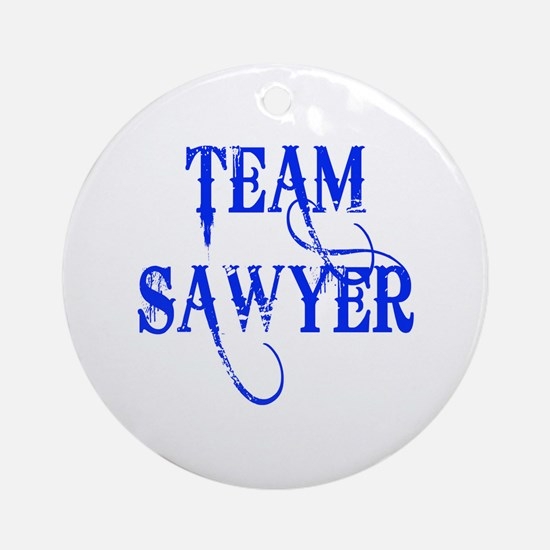 TEAM SAWYER from LOST TV Ornament (Round)
