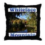 Whiteface pond Throw Pillow
