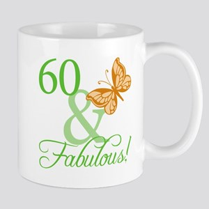 60 & Fabulous Birthday Mug