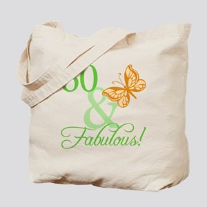 60 & Fabulous Birthday Tote Bag
