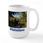 Whiteface pond Large Mug