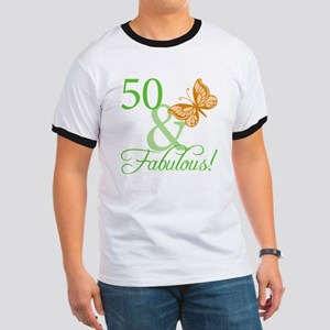 50 & Fabulous Birthday Ringer T