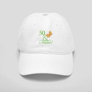 50 & Fabulous Birthday Cap