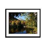 Whiteface pond Framed Panel Print