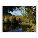 Whiteface pond Small Poster