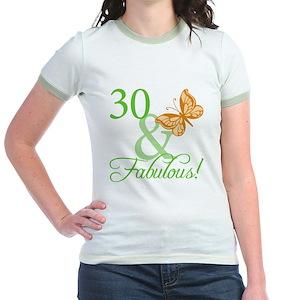 578c4210 7 Year Old Birthday Girl Junior Ringer Tees - CafePress
