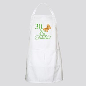 30 & Fabulous Birthday Apron