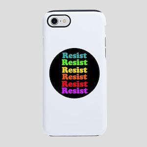 Resist Trump, gay pride iPhone 7 Tough Case