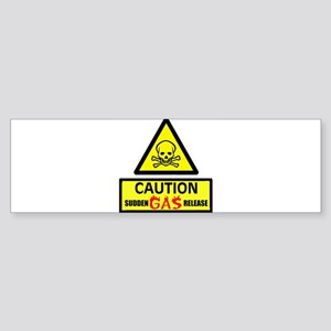 BETTER MOVE AWAY! Bumper Sticker (10 pk)