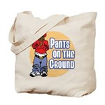 Pants on the ground Tote Bag