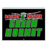 Classic Green Hornet 2018 12-Month Wall Calendar