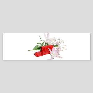 Mailbox Lilies Bumper Sticker