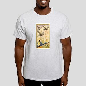 Shana Tova Planes Ash Grey T-Shirt