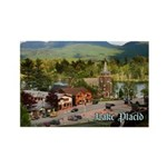 Lake Placid Rectangle Magnet (10 pack)