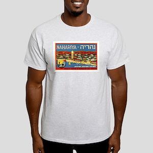 Nahariya Tourism Ash Grey T-Shirt