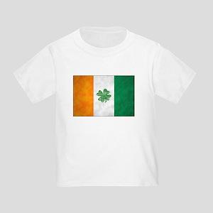 Irish Shamrock Flag Toddler T-Shirt