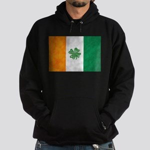 Irish Shamrock Flag Hoodie (dark)