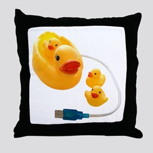 Online Toys and Games Throw Pillow
