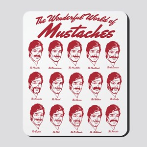 World of Mustaches Mousepad