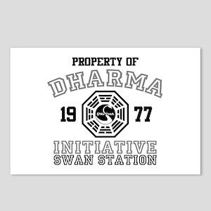Property of Dharma - Swan Postcards (Package of 8)