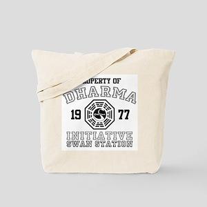 Property of Dharma - Swan Tote Bag