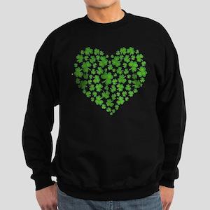 MY IRISH SHAMROCK HEART Sweatshirt (dark)
