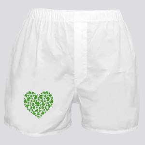 MY IRISH SHAMROCK HEART Boxer Shorts