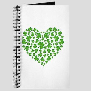 MY IRISH SHAMROCK HEART Journal