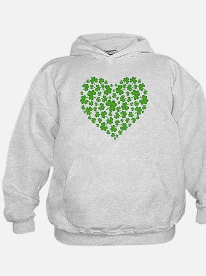 MY IRISH SHAMROCK HEART Hoodie