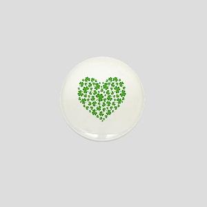MY IRISH SHAMROCK HEART Mini Button