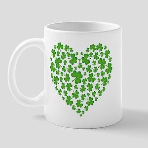 MY IRISH SHAMROCK HEART Mug