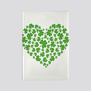 MY IRISH SHAMROCK HEART Rectangle Magnet