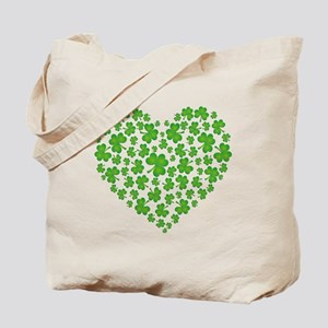 MY IRISH SHAMROCK HEART Tote Bag